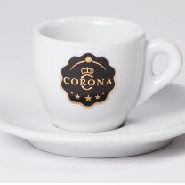 Corona Espresso Ceramic Cups