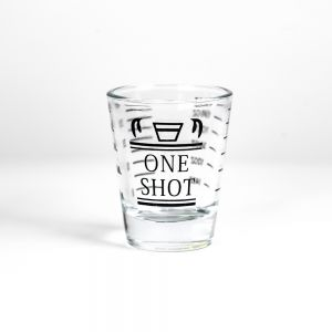 Barista Shot Glass / Single Spout