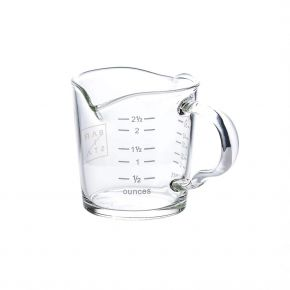 Barista Shot Glass Double Spout