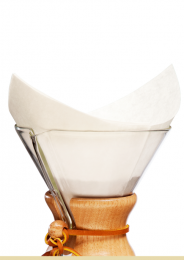 CHEMEX COFFEE FILTERS - 100 CHEMEX BONDED FILTER SQUARES FS-100