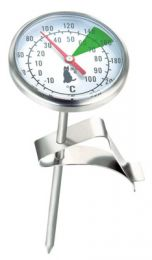 Thermometer for milk jug (pitcher)